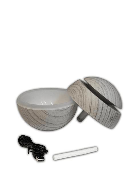 Difusor humidificador ultrasónico de 130ml + 1 Esencia Krishna