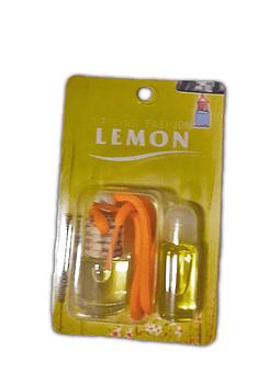 Aromatizante para Auto Transparente Fragancia Limon
