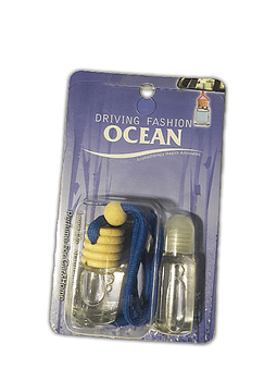 Aromatizante para Auto Transparente Fragancia Oceano