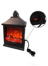 Lampara Farol Diseño Flama (Fuego) c/ Usb o Batería