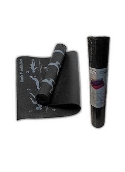 Mat de Yoga Asanas 173 x 61 cm 4mm