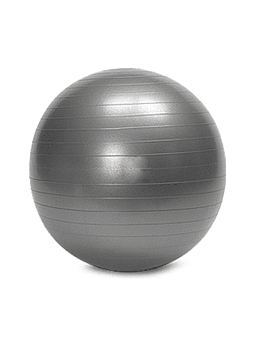 Balon Pilates Yoga 75 CM Gris