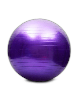 Balon Pilates Yoga 75 CM Morado