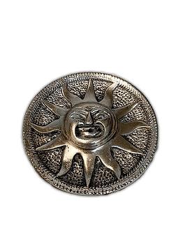 Porta Incienso metálico Sol