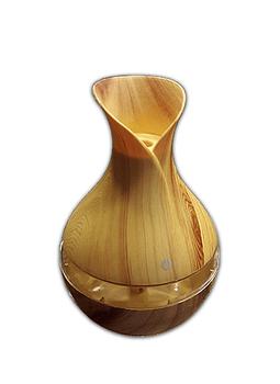 Difusor humidificador ultrasónico beige y Transparente 300ml