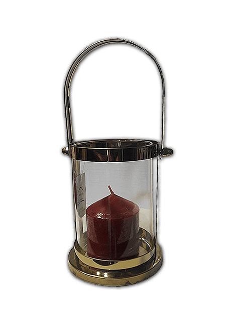 Lámpara Candelabro Vidrio peq 15x9.5cm