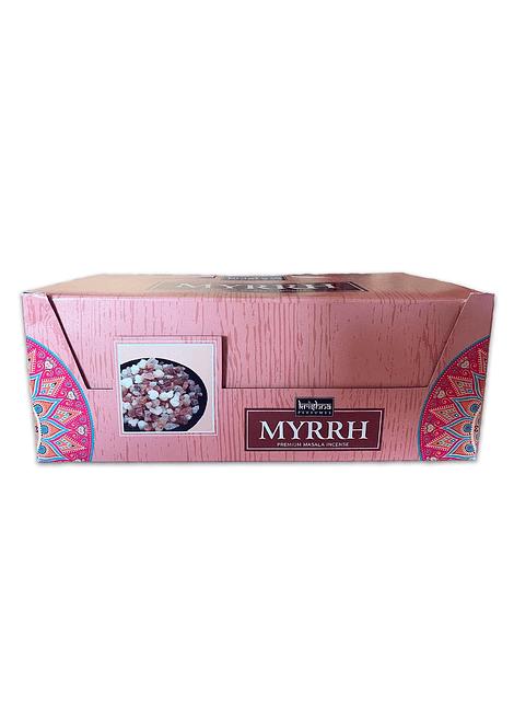 Incienso Krishna Premium Mirra