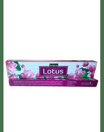 Incienso Krishna Premium Lotus