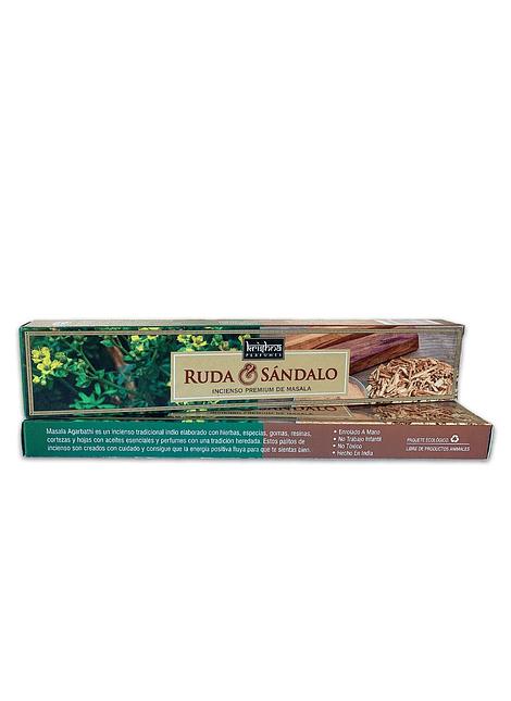 Incienso Krishna Premium Ruda Sandalo