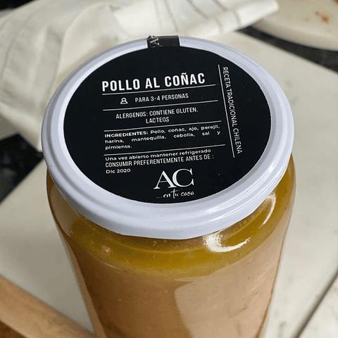POLLO AL COÑAC (1 LITRO)