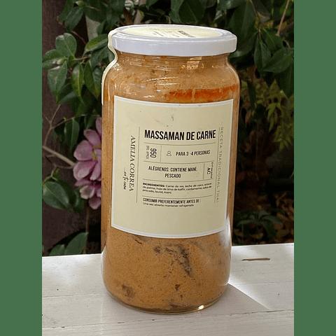 Curry Massaman de carne ( 950 cc)