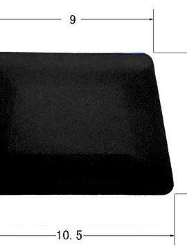 ESPATULA TEFLON BLACK