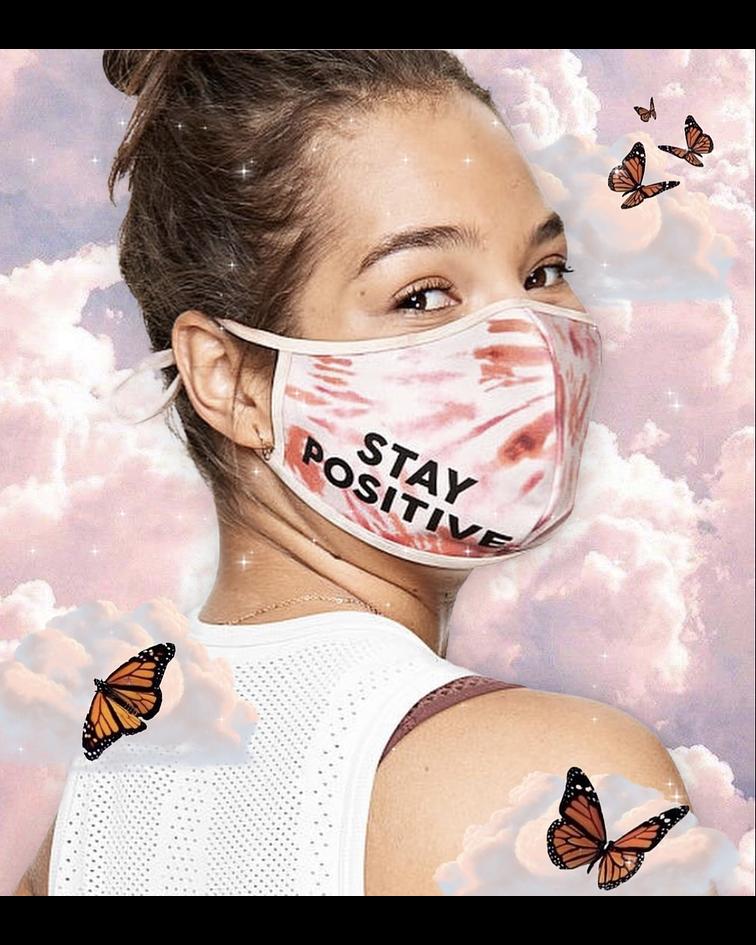Mascarilla Pink Stay Positive