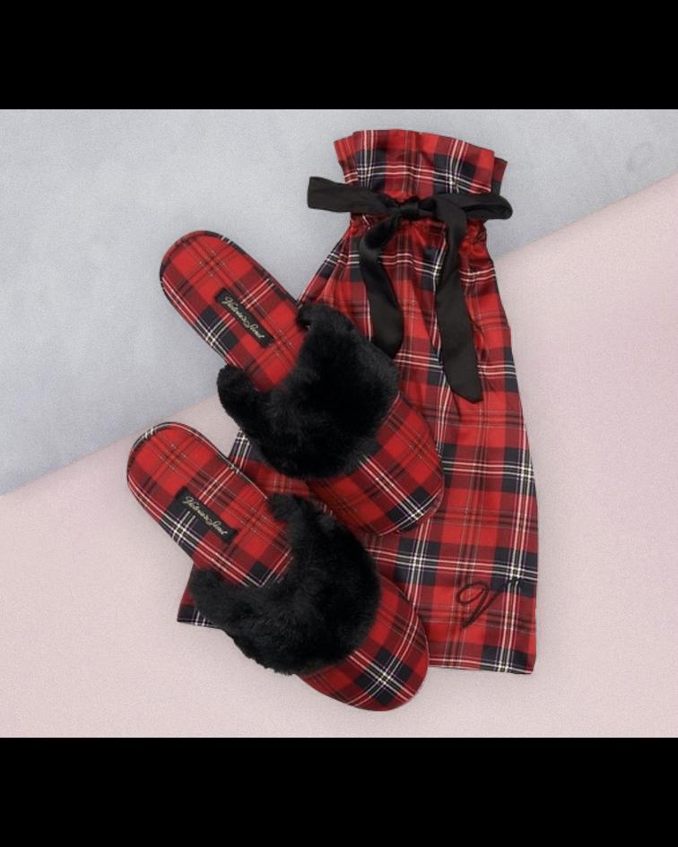 Pantuflas Escocesas talla M (37-38)