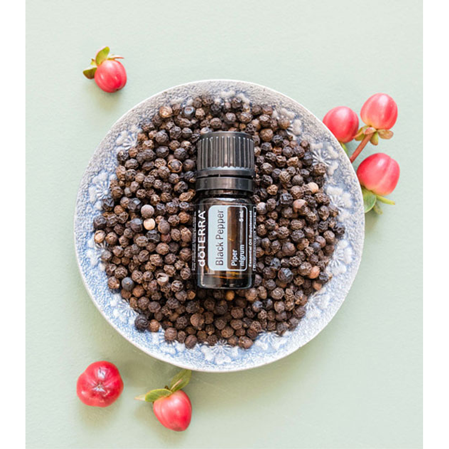 Óleo Essencial Black Pepper (Pimenta Preta) - 5 ml
