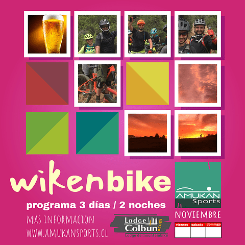 WikenBike 6 al 8 de Nov. 2020