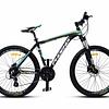 "Bicicleta Mtb  aro 26"". Phoenix Hidraulica Negra/Verde"