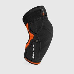 Rodilleras Racer Profile Knee negra/naranja