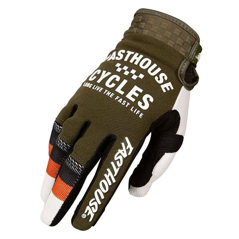 Guante Fasthouse Blaster Olive
