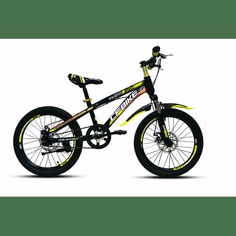 Bicicleta Mtb Aro 20 Disco