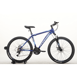 Bicicleta 26 Mtb Phoenix Disco 21 Speed Azul