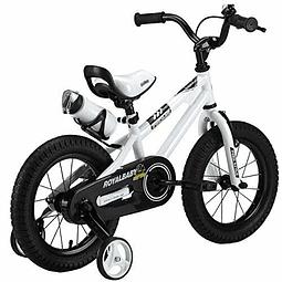 Bicicleta Royal Baby Fr Niño Aro 12 Blanco