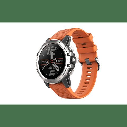 Coros Smartwatch Coros VERTIX - Reloj GPS con oxímetro, aleación de titanio, cristal de zafiro, monitoreo de oxígeno en sangre 24/7, índice de rendimiento de altitud, duración de la batería de 45 días