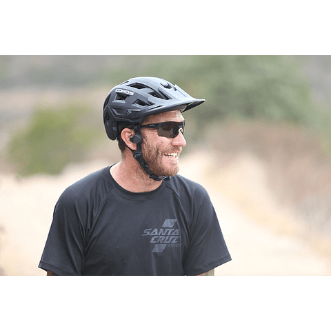 Coros Casco de ciclismo inteligente Coros SafeSound Mountain Bike con sistema de sonido, alerta de emergencia SOS y luz trasera LED   Bluetooth para música y llamadas telefónicas   Control remoto