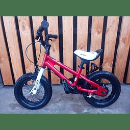 Bicicleta niño aro 12. Marca Royal Baby