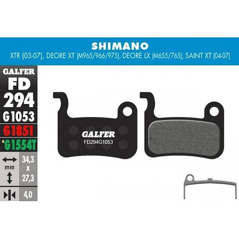 GALFER PASTILLAS SHIMANO M965/966/975/655/765/775