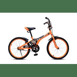 "Bicicleta Aro 20"" Niño Naranja"