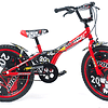 """Bicicleta Aro 20"""" Niño Roja"""