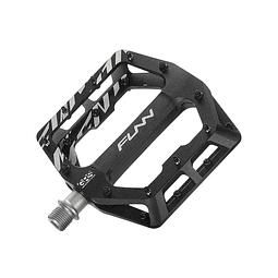 Pedal Funndamental Aluminio Negro Marcas Funn