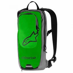 Mochila Alpinestars Sprint Back Pack Verde/Gris