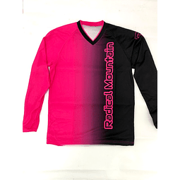 Jersey Mtb Radical Mountain color  Purpura/Negro