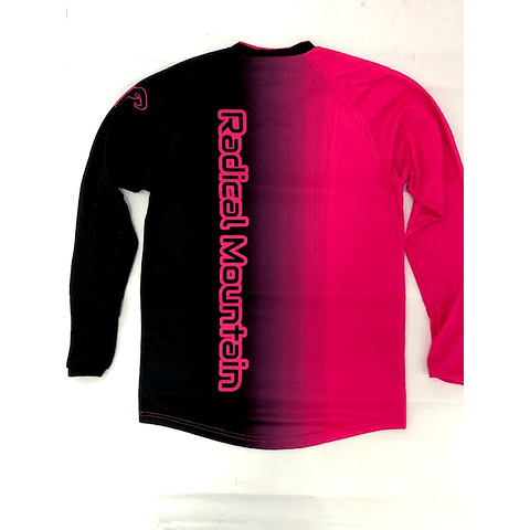 Jersey Mtb Radical Mountain color  Purpura/Negro