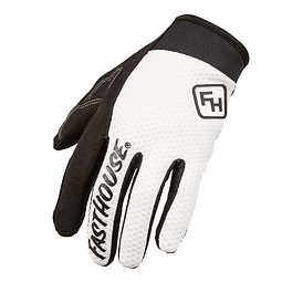Guante Fasthouse Crossline White M