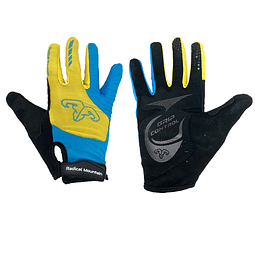 Guante Al-05-1799 Yellow/Blue M