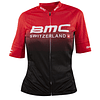 Jersey Bmc Corto Negro/Rojo