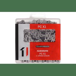 Cadena Sram Pc-X1 11v Plata