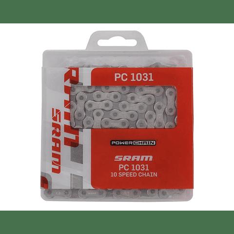 Cadena Sram Pc-1031 10v Gris