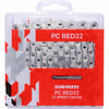 Cadena Sram Roja 22 Hollow Pin 11v Nickel/Pl