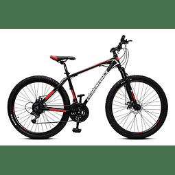 Bicicleta 27.5 Diamondback T/S Al Neg/Ro Disc