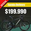 Bicicleta MTB frenos disco aro 27.5 + 1 casco y 7 accesorios