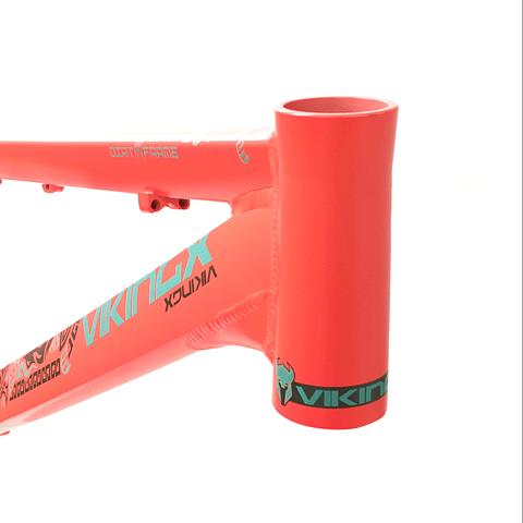 "Marco Aluminio Viking bicicleta modelo X29 color Naranjo aro 26"""