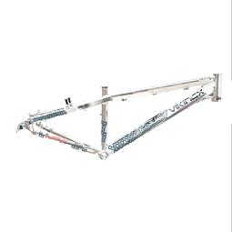 "Marco Aluminio Viking bicicleta modelo X29 color aluminio aro 26"""
