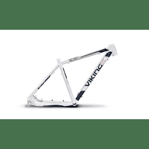 """Marco Viking Elite Aluminio 27.5 X 19"""" Blanco"""