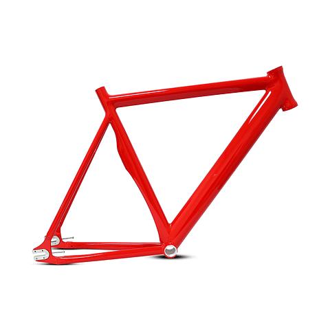 Marco Fixed Aluminio color rojo Rojo