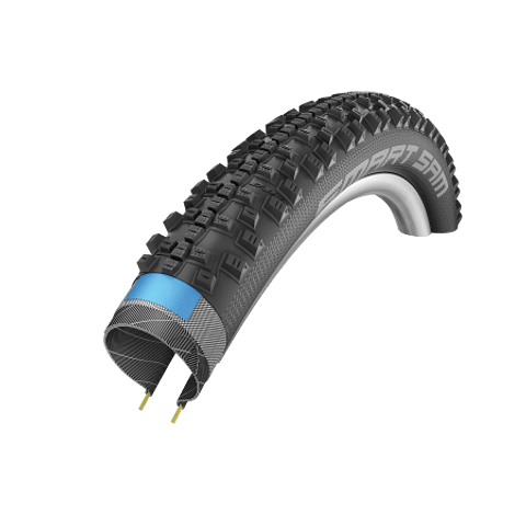 Schwalbe SMART SAM DD RaceGuard Folding ADDIX 27.5x2.25""