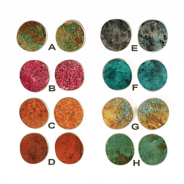 Aro Kaaro plata cobre colores